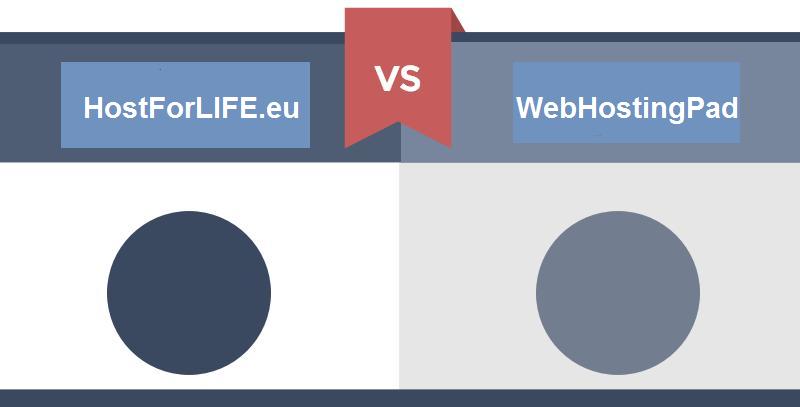 Web Hosting Comparison in 2017 – WebHostingPad VS HostForLIFE