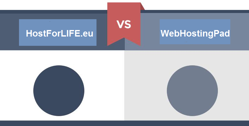 Web Hosting Comparison in 2017 – WebHostingPad VS HostForLIFE